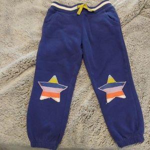 Mini Boden applique sweatpants size 110 (5)